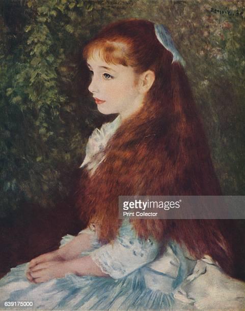 Irene Cahen d'Anvers ' From Verve Nos 56 JulyOctober 1939 [Verve France 1939] Artist PierreAuguste Renoir