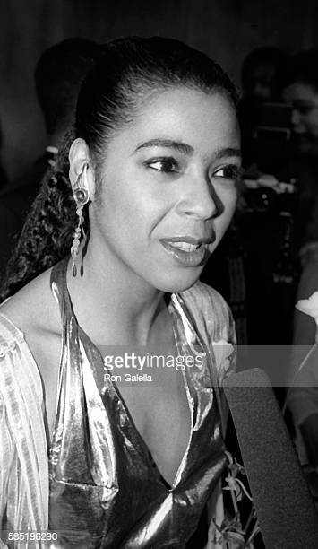 Irene Cara attends Martin Luther King Jr A Celebration of Life Gala on January 8 1984 at the Kennedy Center in Washington DC