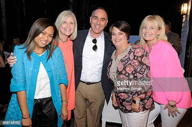 Irene Edwards Erica Alpers The Fort Group VP Account Director Joe Moran Marvin Channel Marketing Manager Ann Rauch and Amy Olmsted attend the Coastal...