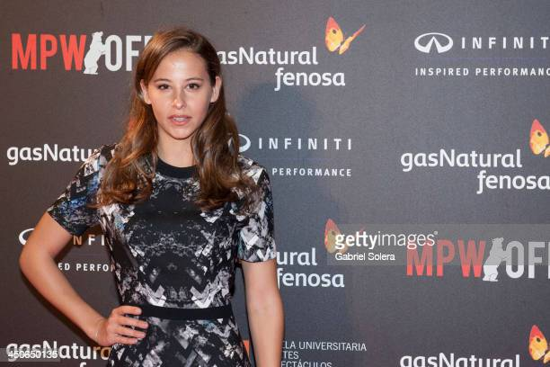 Irene Escolar attends '10000 Noches en Ninguna Parte' Madrid Premiere at Callao cinema on November 19 2013 in Madrid Spain