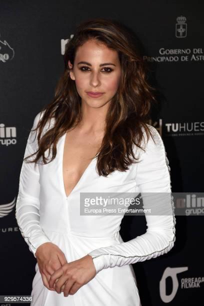 Irene Escolar attends 'Bajo la Piel del Lobo' premiere at Callao cinema on March 8 2018 in Madrid Spain