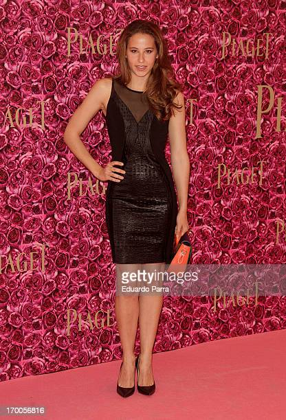 Irene Escolar attends Piaget private Dinner photocall at Kabuki restaurant on June 6 2013 in Madrid Spain
