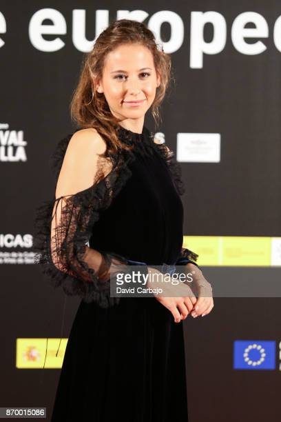 Irene Escolar attends the Gala of the European Film Festival of Sevilla on November 3 2017 in Seville Spain