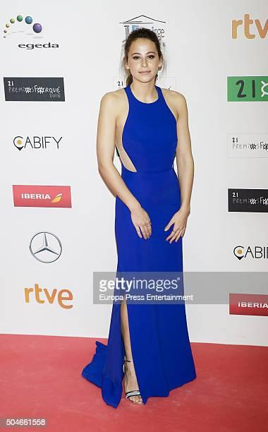 Irene Escolar attends the Jose Maria Forque Awards at Palacio de Congresos on January 11 2016 in Madrid Spain