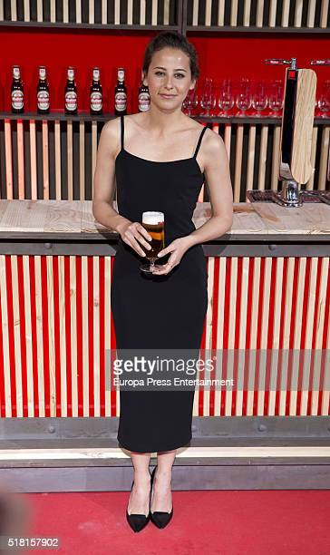 Irene Escolar attends the Mahou Spot presentation at Capitol cinema on March 29 2016 in Madrid Spain