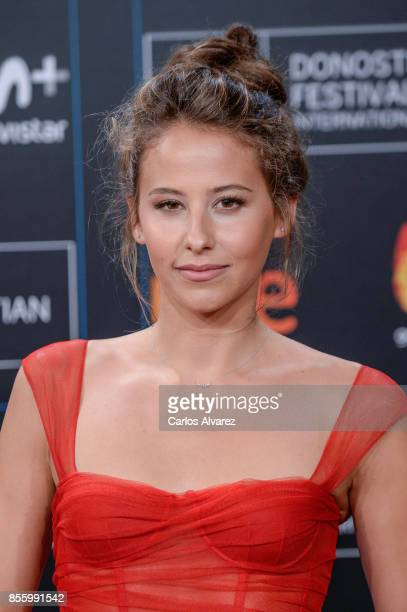 Irene Escolar attends the red carpet of the closure gala during 65th San Sebastian Film Festival at Kursaal on September 30 2017 in San Sebastian...
