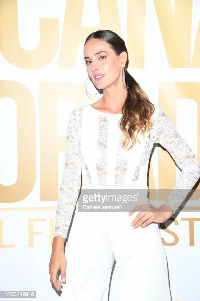 Irene Esser attends Cana Dorada Film Music Festival White Gala Latin Night on January 17 2020 in Punta Cana Dominican Republic
