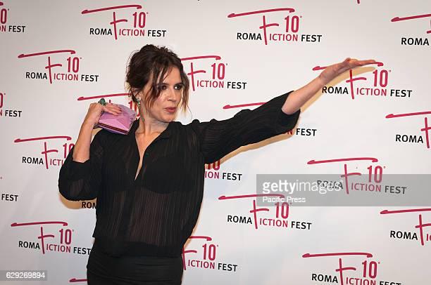 Irene Ferri attends a red carpet for Immaturi La Serie during the Roma Fiction Fest 2016