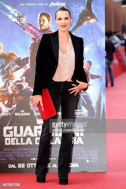 Irene Ferri attends the 'Guardians of the Galaxy' Red Carpet during the 9th Rome Film Festival on October 21 2014 in Rome Italy