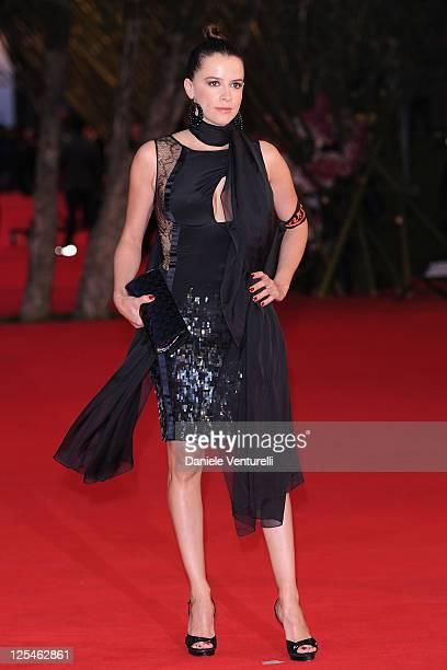 Irene Ferri attends the La Dolce Vita World Restoration Premiere during The 5th International Rome Film Festival at Auditorium Parco Della Musica on...