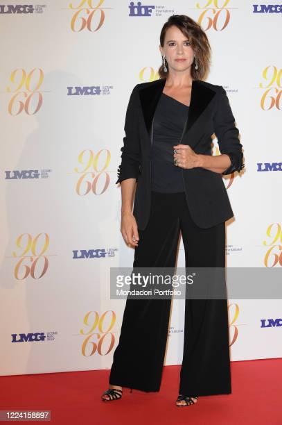 Irene Ferri During the event '60 / 90 ' organized in the evocative setting of the Maxxi of Rome to celebrate the 90th anniversary of Fulvio Lucisano...
