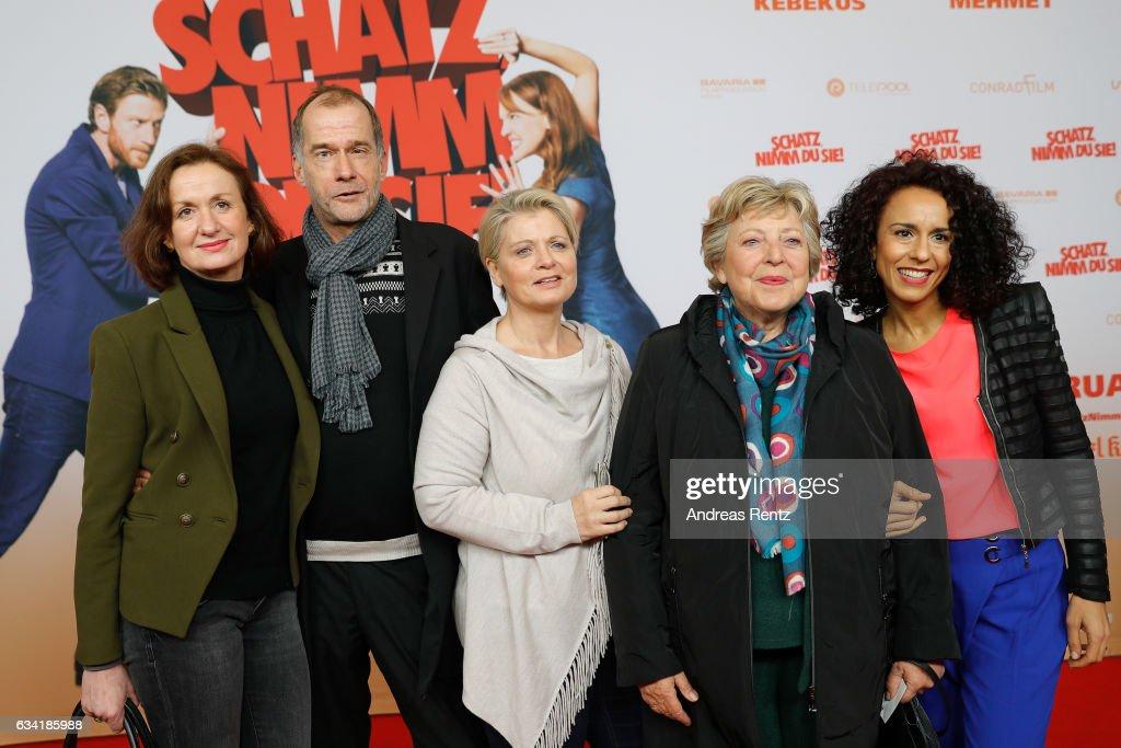 'Schatz, Nimm Du sie!' German Movie Premiere In Cologne