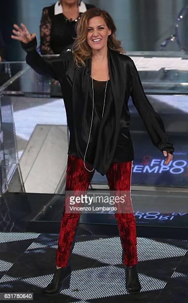 Irene Grandi attends 'Che Tempo Che Fa' tv show on January 15 2017 in Milan Italy