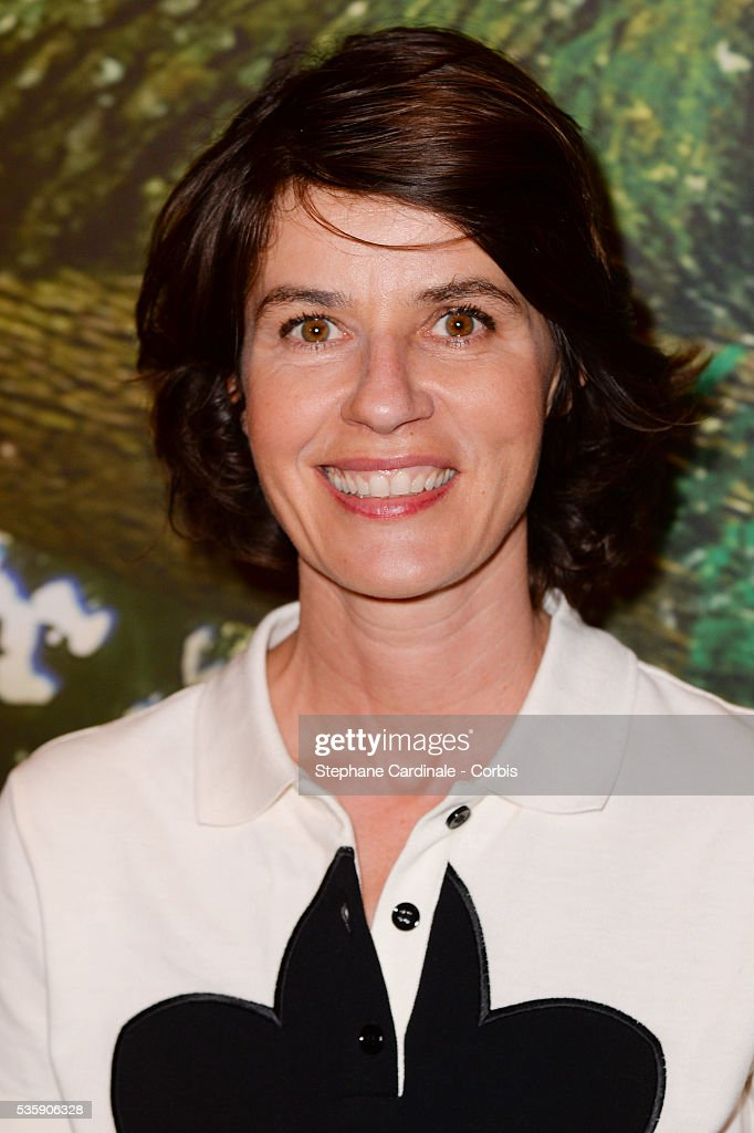 Irene Jacob attends the 'Il etait une foret' Paris Premiere at Cinema Gaumont Marignan, in Paris.