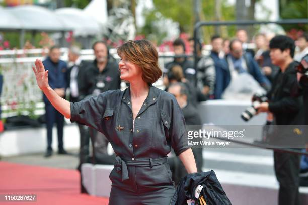 Irene Jacob attends the screening of Portrait Of A Lady On Fire during the 72nd annual Cannes Film Festival on May 19 2019 in Cannes France
