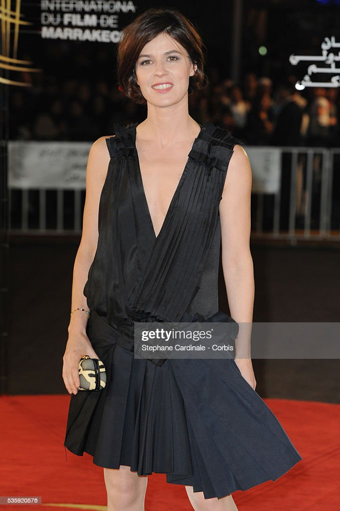 Irene Jacob attends the Tribute to French Cinema during the Marrakech 10th Film Festival.