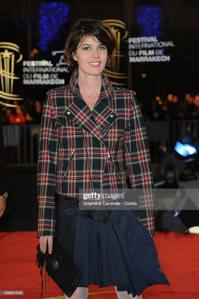 Irene Jacob attends the Tribute to Harvey Keitel during the10th Marrakech Film Festival, in Marrakech.