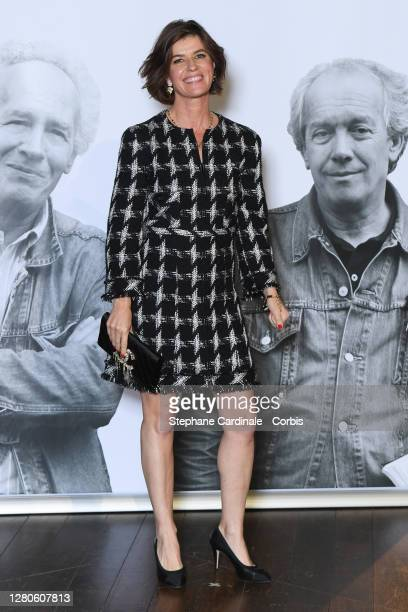 Irene Jacob attends the tribute to the brothers Jean-Pierre Dardenne and Luc Dardenne at the 12th Film Festival Lumiere In Lyon on October 16, 2020...