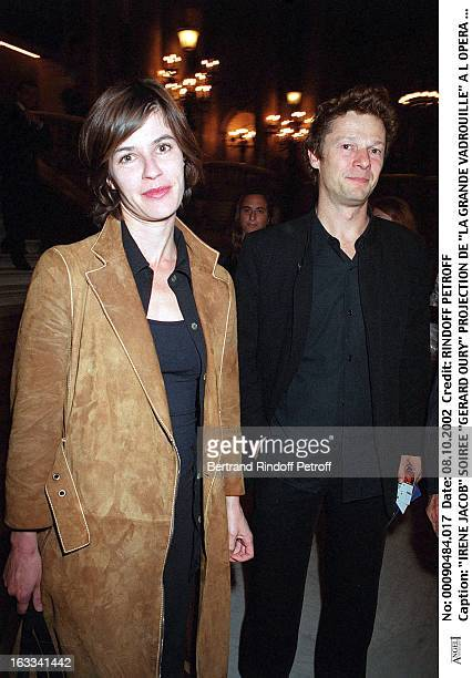 Irene Jacob 'Gerard Oury' film screening of 'La Grande Vadrouille' at the Garnier opera