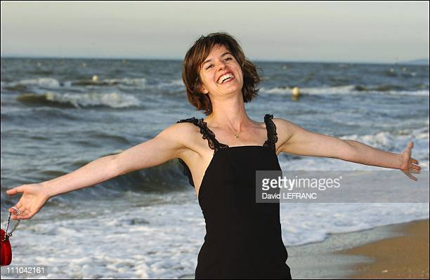 Irene Jacobat the Cabourg Romantic Film Festival in Cabourg, France on June 13, 2003.