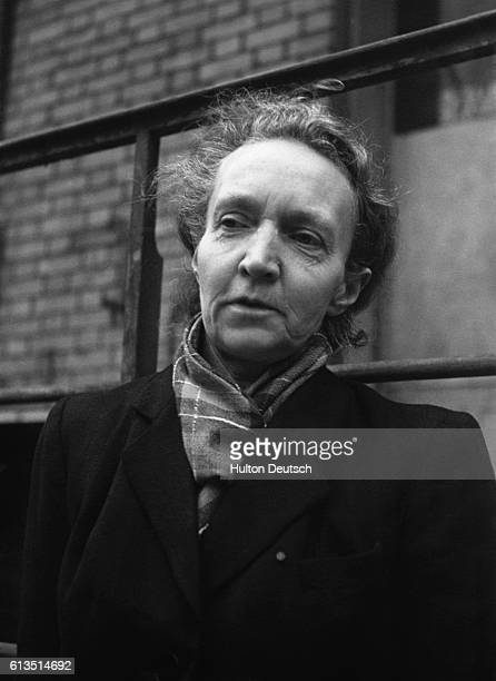 Irene JoliotCurie the daughter of Marie Curie ca 1950 She won the Nobel Prize in 1937 for the discovery of artificial radio activity