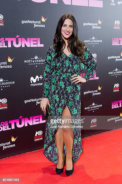 Irene Junquera attends 'Los Del Tunel' premiere during the Madrid Premiere Week at Callao Cinema on November 21 2016 in Madrid Spain