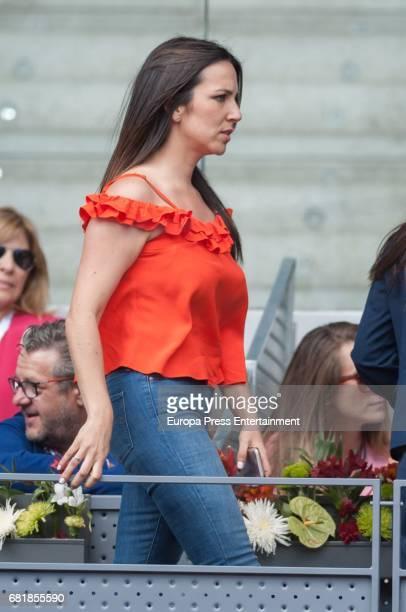 Irene Junquera attends Mutua Madrid Open tennis at La Caja Magica on May 10 2017 in Madrid Spain