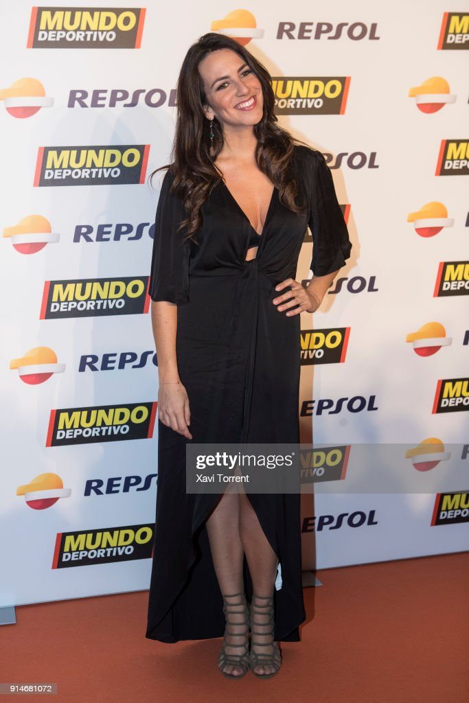 Irene Junquera attends the photocall of the 70th Mundo Deportivo Gala on February 5, 2018 in Barcelona, Spain.