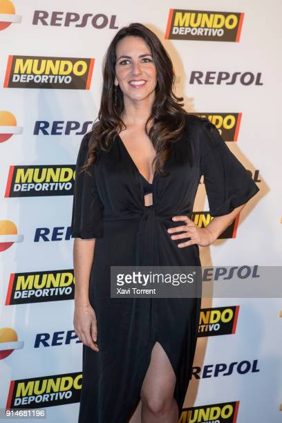 Irene Junquera attends the photocall of the 70th Mundo Deportivo Gala on February 5 2018 in Barcelona Spain