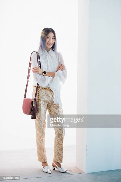 Irene Kim at Spring Studios on September 14 2016 in New York City