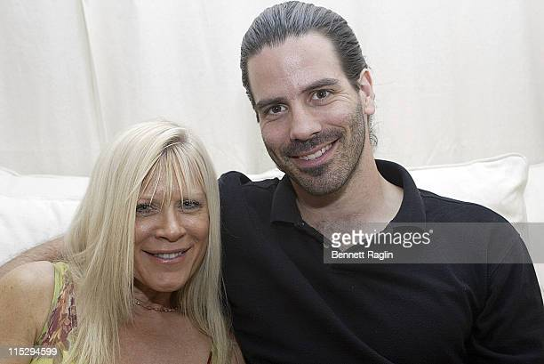 Irene Kristen and Brian Sheraton during Macia Tovsky's 17th Annual Day Time Soaps Pre-Emmy Party - April 19, 2006 at Nikki Beach Manhattan in New...
