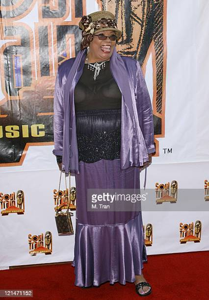 Irene Mama Stokes during 21st Annual Soul Train Music Awards Arrivals at Pasadena Civic Auditorium in Pasadena California United States