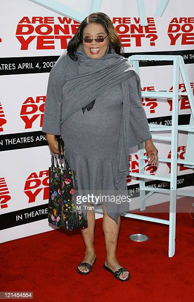 Irene Mama Stokes during Are We Done Yet Los Angeles Premiere Arrivals at Manns Village Theater in Westwood California United States