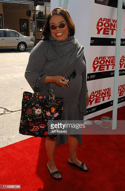 Irene Mama Stokes during Are We Done Yet Los Angeles Premiere Red Carpet at Mann Village Theater in Westwood California United States
