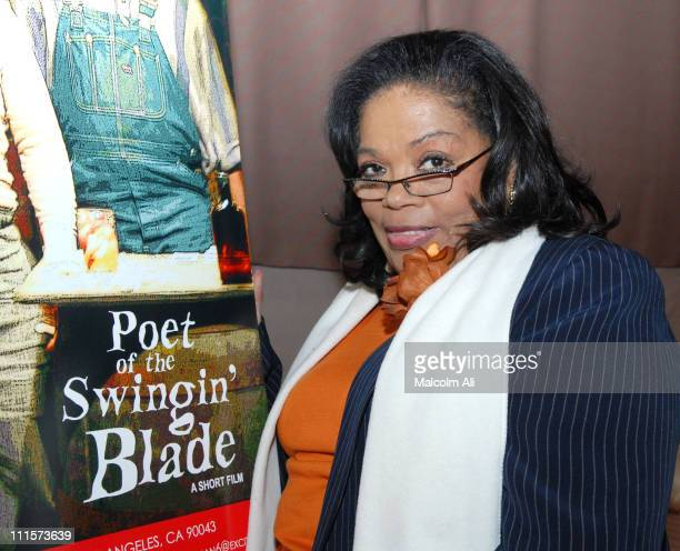 Irene Mama Stokes during Special Movie Screening Poet of the Swingin' Blade December 6 2006 at Stage 52 in Los Angeles California United States