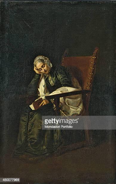 Irene Marozzi Quadri by Cesare Pezzi 18th Century oil on canvas 211 x 138 cm