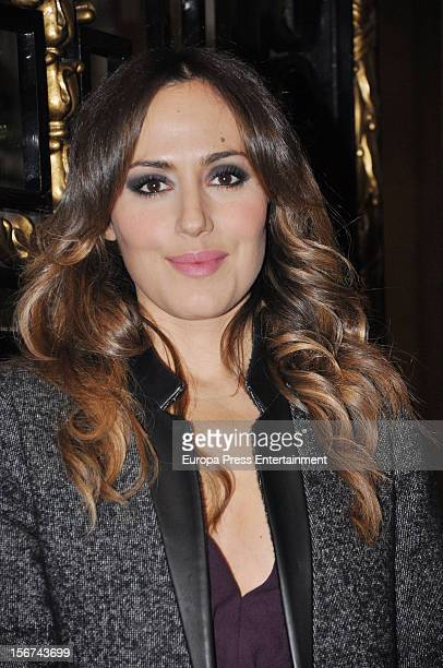 Irene Montala arrives at GQ Men of the Year Awards 2012 at Palace Hotel on November 19 2012 in Madrid Spain
