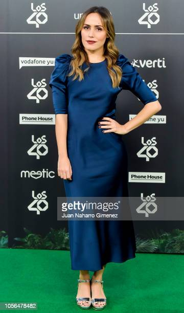 Irene Montala attends during 'LOS40 Music Awards' 2018 at WiZink Center on November 2 2018 in Madrid Spain