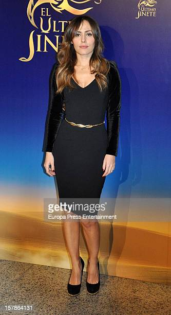 Irene Montala attends 'El Ultimo Jinete' Premiere In Madrid at Teatros Del Canal on December 5 2012 in Madrid Spain