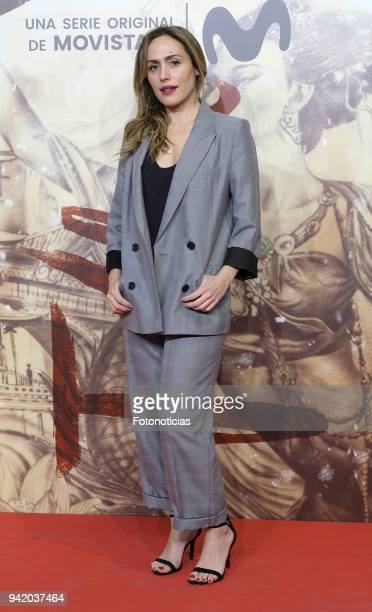 Irene Montala attends 'Felix' Episode 1 premiere at Callao Cinema on April 4 2018 in Madrid Spain