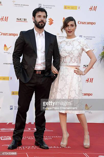 Irene Montala attends 'La Deuda' premiere during the 18th Malaga Film Festival on April 18 2015 in Malaga Spain