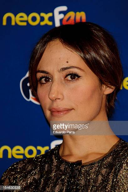Irene Montala attends Neox Fan Awards 2012 photocall at La Latina Theatre on October 23 2012 in Madrid Spain