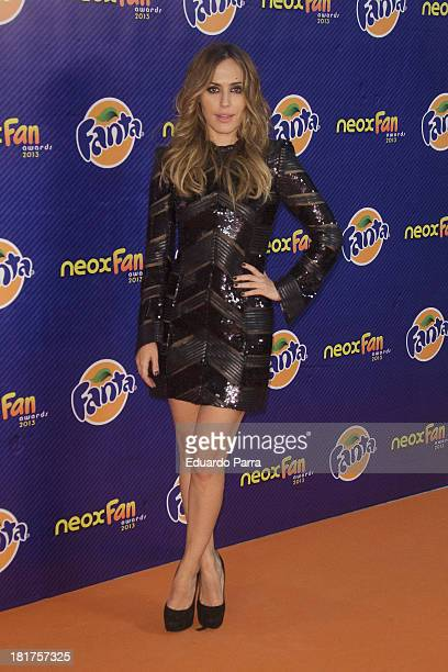Irene Montala attends Neox Fan Awards photocall at IFEMA Congress Hall on September 24 2013 in Madrid Spain