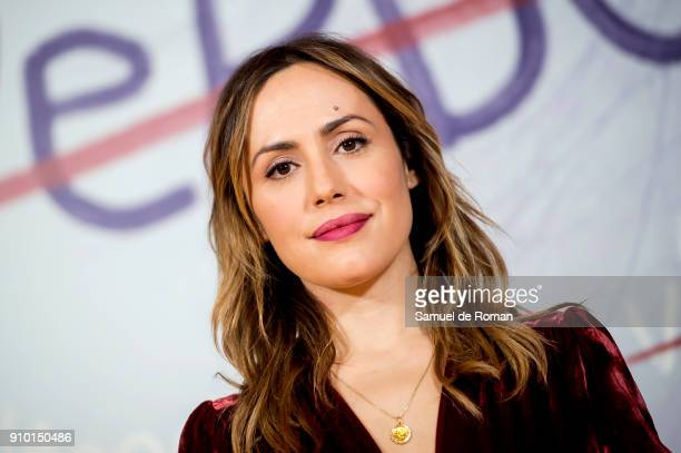 Irene Montala attends the 'La Verdad' Presentation in Madrid on January 25 2018 in Madrid Spain
