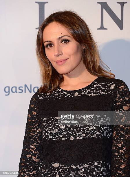 Irene Montala attends the premiere of 'Fin' at Callao Cinema on November 20 2012 in Madrid Spain