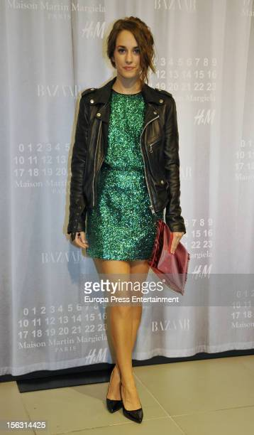 Irene Montala attends the presentation of new Autumn collection by Maison Martin Margiela for HM on November 12 2012 in Madrid Spain