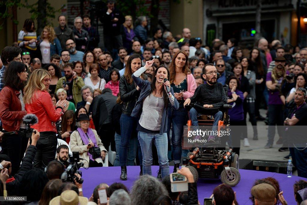 ESP: Pablo Iglesias Returns To Political Activity