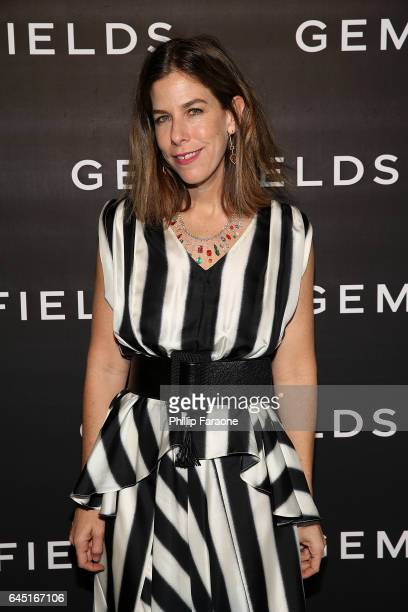 Irene Neuwirth attends Gemfields celebration of Ruth Negga and Karla Welch at Chateau Marmont on February 24 2017 in Los Angeles California