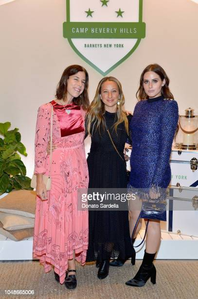 Irene Neuwirth Jennifer Meyer and Alexa Dell attend Barneys New York Hosts Celebration In Support Of Heart Of Los Angeles at Barneys New York Beverly...
