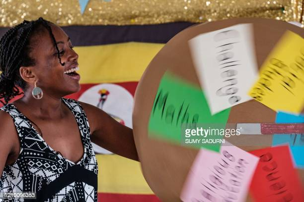 Irene Nyangoma a teacher at the Clarke Junior School and is the hostess of a new TV show which is aimed for children to learn at home with their...